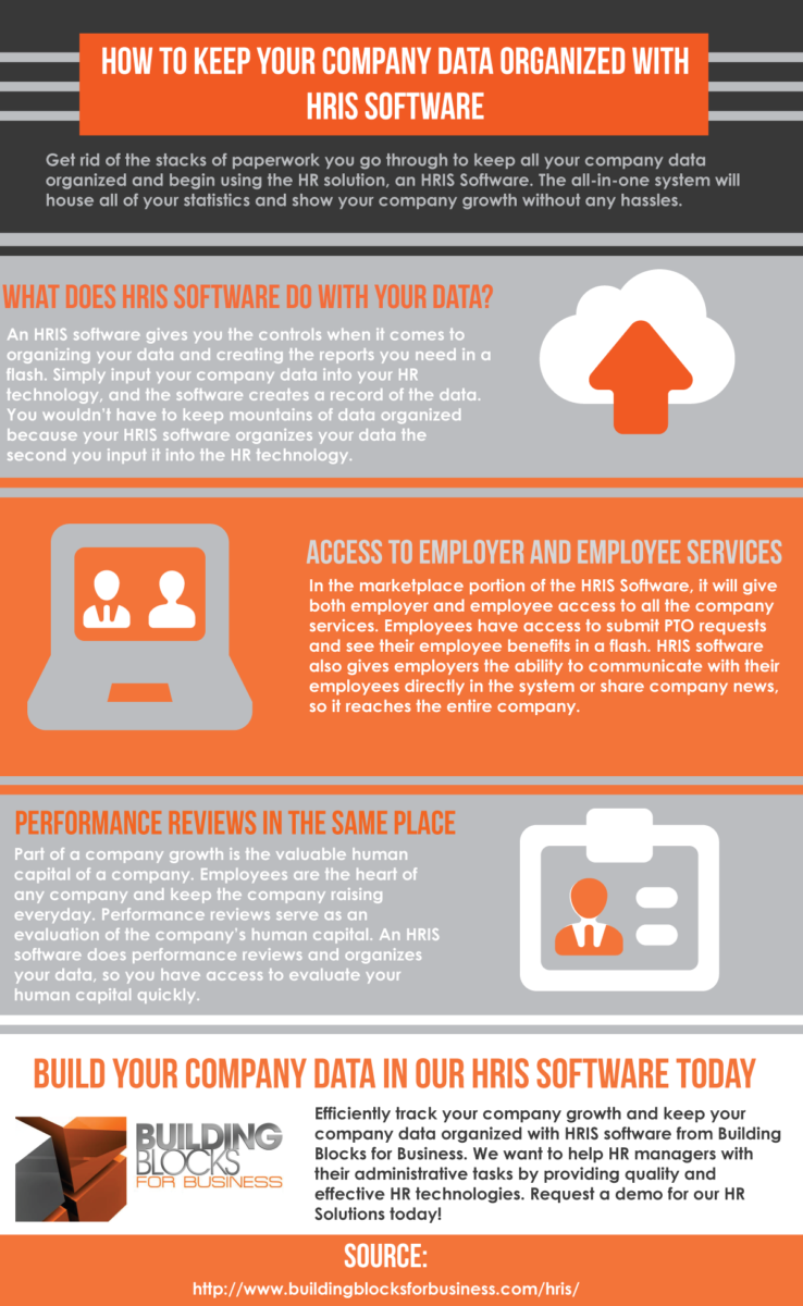 streamline your administrative work by keeping your company data organized with hris software